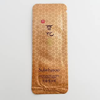 30 X Sulwhasoo Sample Concentrated Ginseng Renewing Cream 1ml. Super Saver Than Normal Size