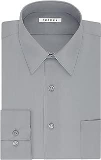 Men's TALL FIT Dress Shirts Poplin (Big and Tall)
