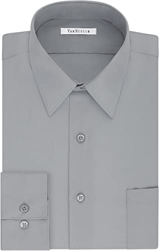 Van Heusen and Tall Robe Shirt Big Fit Poplin Chemise habillée Homme