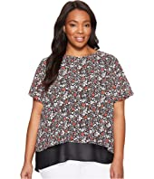 MICHAEL Michael Kors - Plus Size Brooks Back Cut Out Top
