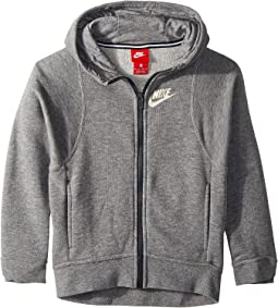Sportswear Modern Full-Zip Hoodie (Little Kids/Big Kids)