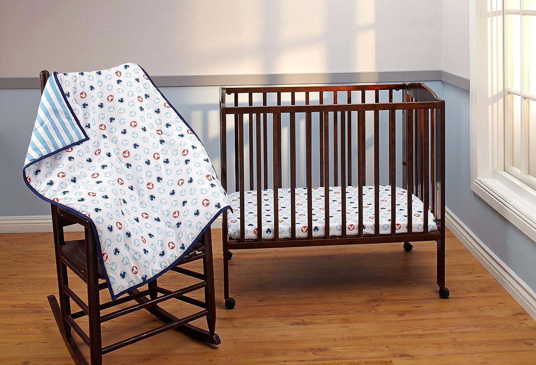 Disney Porta Crib Set, Mickey Mouse