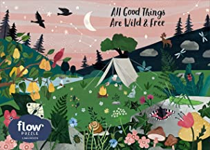 Workman Publishing All Good Things are Wild and Free 1,000-Piece Puzzle (Flow)