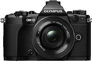 Olympus OM-D E-M5 Mark II Kit, mikro fyra tredjedelar systemkamera (16,1 megapixel, 5-axlig bildstabilisering, elektronisk...