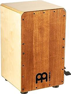 Meinl Cajon Caja Tambor con pedal activado – NO fabricado en China – Placa frontal de fresno blanco americano/cuerpo de abedul báltico, Snarecraft Professional, 2 años de garantía (SCP100AWA)