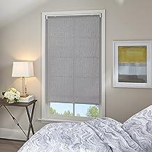 "Curtainworks Twilight Window Shade, 23"" W x 64"" L, Grey"