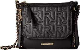 Multi Compartment Quilted R Crossbody