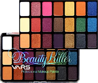 VARS LONDON 21 Color matte and shimmer combo eyeshadow palette 39.2 g (matte)