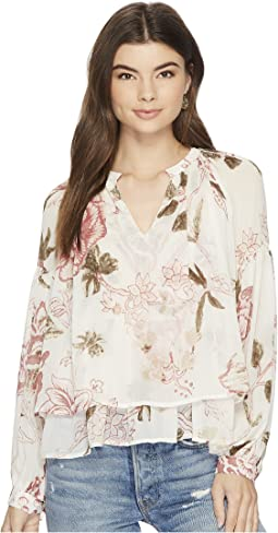Lucky Brand - Jenna Peasant Top