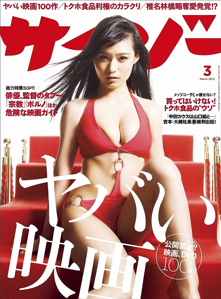 ビーズ矢ねばねばサイゾー 2013年 3月号 [雑誌]