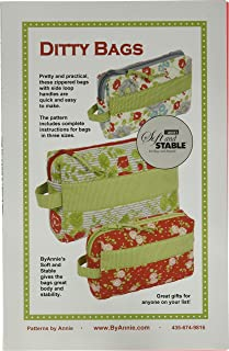 Patterns ByAnnie Ditty Bags Pattern