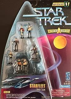 Star Trek Warp Factor Series 1 Strike Force - Starfleet Away Team