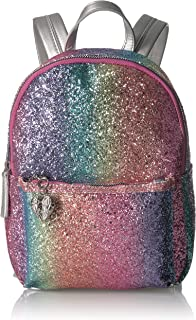 Betsey Johnson Rainbow Glitter Mini Backpack