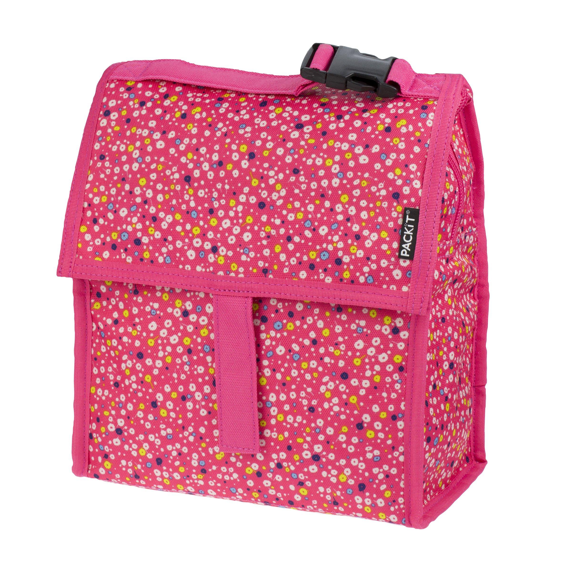 PackIt Bolsa para Almuerzo congelable, Poppies: Amazon.es: Hogar