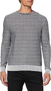 TOM TAILOR Men's Modern Basic Struktur Sweatshirt