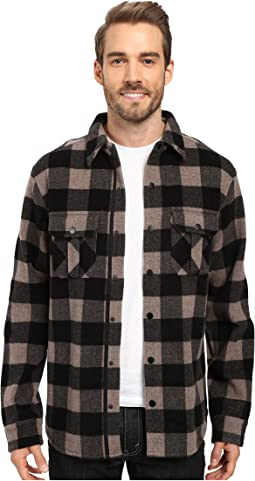 Anchor Line Shirt Jacket