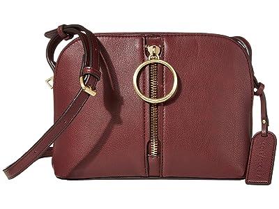 SOLE / SOCIETY Dayne Crossbody (Oxblood) Handbags