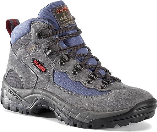 Olang Gottardo Tex, Chaussures de randonnée Basses pour Femme Femme gris Asphalt