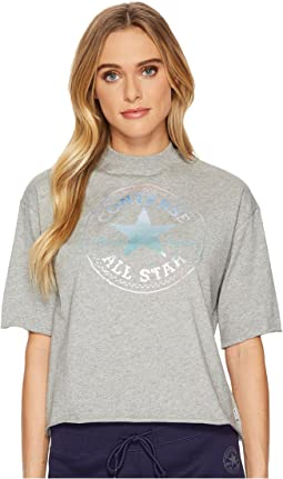 Converse - Shine Pack Foil CP Mock Neck T-Shirt