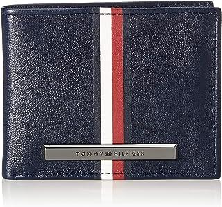 Tommy Hilfiger Corp Plaque Stripe Card Holder