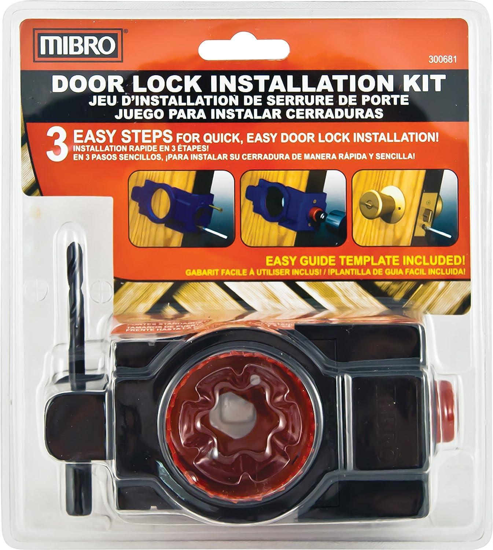 MIBRO 300681 - Best Cheap Door Lock Installation Kit