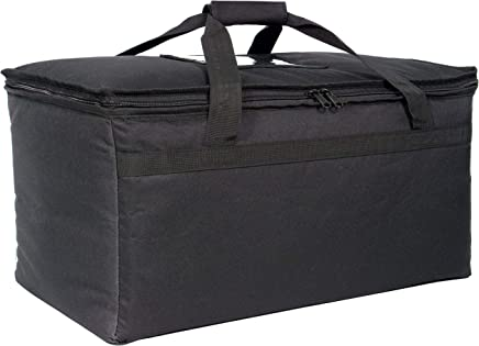 """Commercial Quality Food Delivery Bag 21.5"""" x12.5"""" x11"""" Extra Strength Zipper and Thick Insulation"""