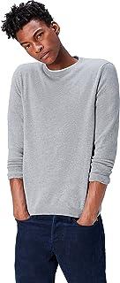 find. Men's Cotton Crew Neck Knitted Jumper