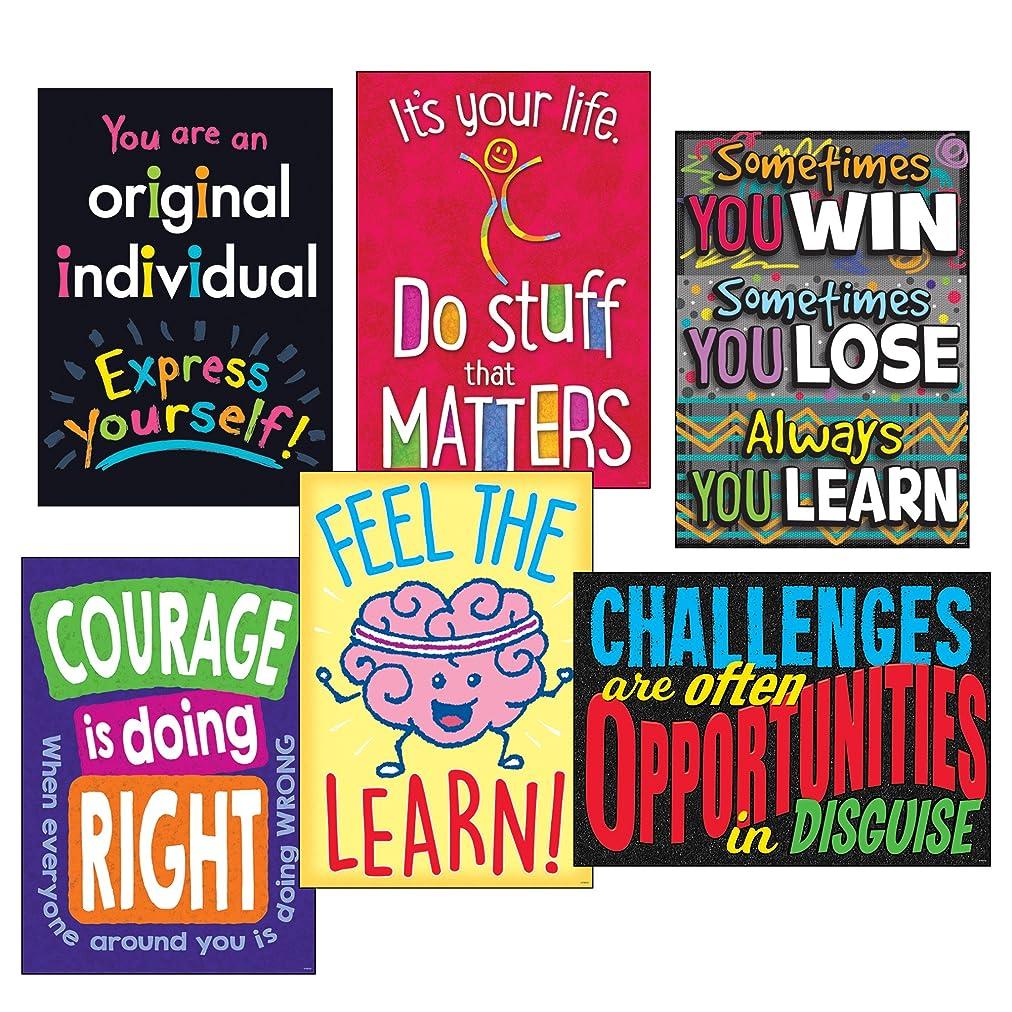 Trend Enterprises T-A67937 Life Lessons Argus Poster Combo Pack