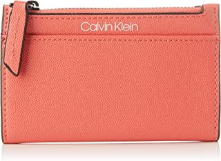 Calvin Klein Signature Ns Cardholder Wallets, Card Cases & Money Organizers, Red, 14 cm - K60K606537