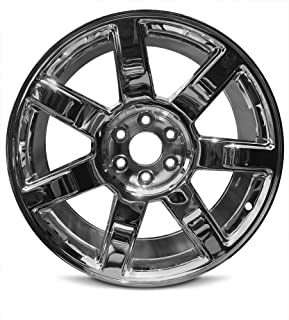 Road Ready Car Wheel For 2007-2014 Cadillac Escalade Escalade ESV 2007-2013 Cadillac Escalade EXT 22 Inch 6 Lug Aluminum Rim Fits R22 Tire - Exact OEM Replacement - Full-Size Spare