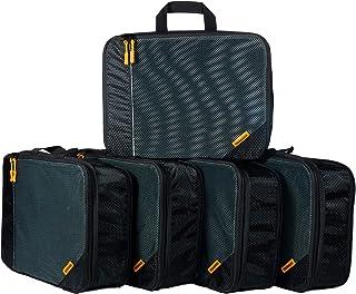 Terohouse 5 Set Travel Compression Packing Cubes - Medium Luggage Organizer Bag