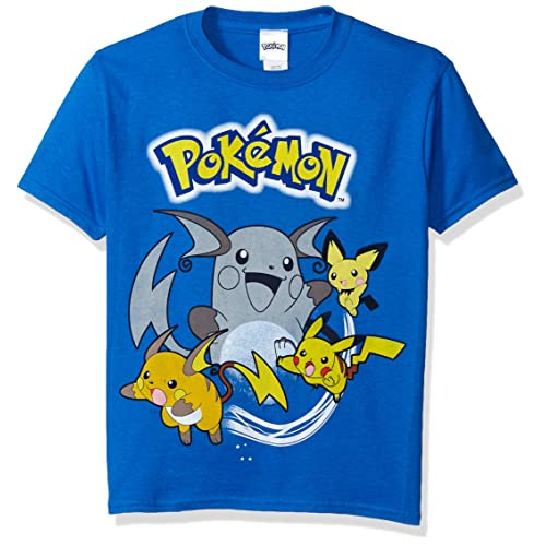 d22d8c50 Pokemon Boys' Pokemon Group Short Sleeve Tee