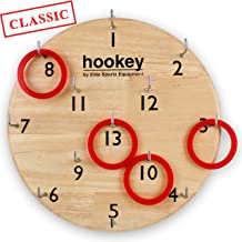 Elite Sportz Gifts for Men, Teens and Safe Games for Kids - Our Beautifully Finished Hookey Games Make Great for All. Easy Set-Up, Simply Hang and Play