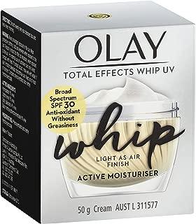 Olay Total Effects Whips Face Cream Moisturiser UV SPF 30 50g