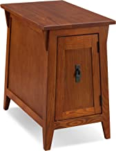 Leick Favorite Finds Mission Cabinet End Table, Russet