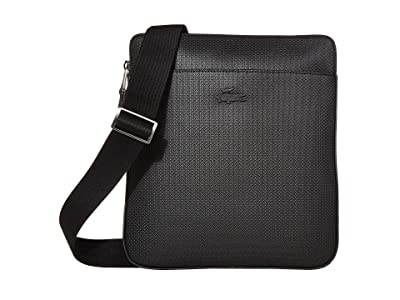 Lacoste Chantaco Flat Crossover (Black) Bags