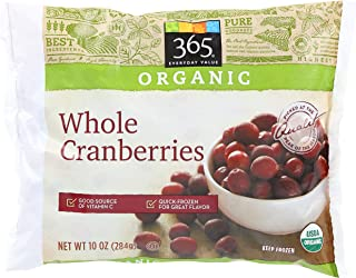 365 Everyday Value, Organic Whole Cranberries, 10 oz (Frozen)
