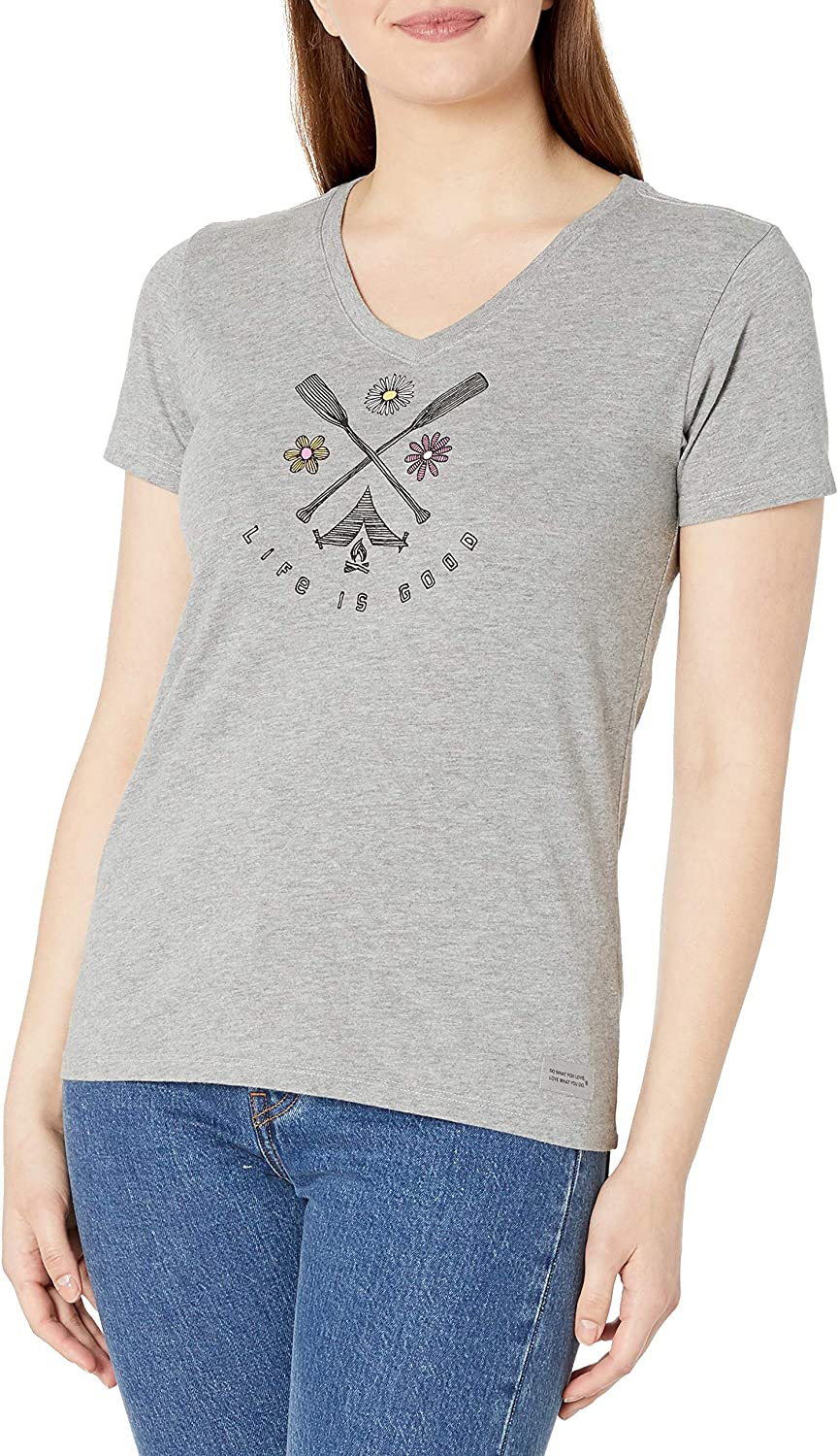 Life is Good Women's Crusher 25% OFF Ranking integrated 1st place Daisy Vee Mandala T-Shirt