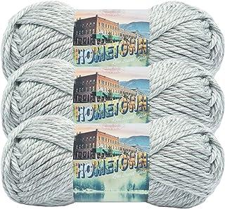 (3 Pack) Lion Brand Yarn 135-226G Hometown Yarn, Fayetteville Frost