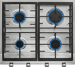TEKA EX 60.1 4G AI AL CI Plate gas with with cast iron grids 60 cm of butane gas