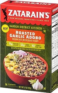 Zatarain's Roasted Garlic Adobo Brown Rice With Black Beans, 5.7 oz