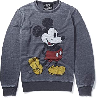 Disney Mickey Classic Pose Charcoal Sweatshirt by Re:Covered