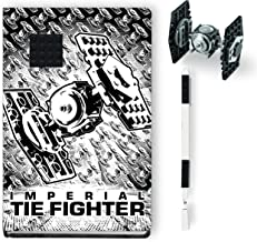 LEGO Star Wars Tie Fighter Creativity Set with FSC Certified Journal, Tie Fighter Building Toy, and Black Gel Pen