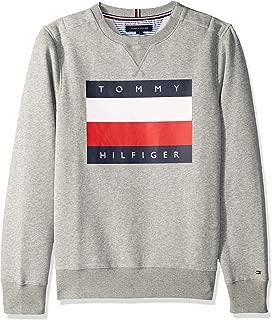 Tommy Hilfiger Mens Adaptive Sweatshirt with Velcro® Brand Closure Sweatshirt