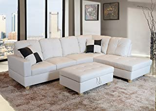 Amazon Com White Living Room Sets Living Room Furniture Home