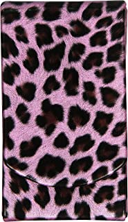 Boston International Pink Leopard Pocket Tissue Holder