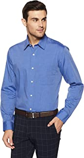 Arrow Men's Solid Regular Fit Business Shirt