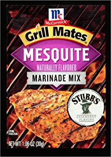 McCormick Grill Mates Mesquite Marinade, 1.06 oz, Pack of 12