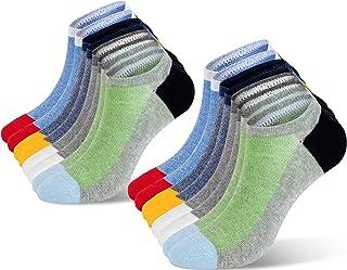 Newdora Chaussette Hommes Basses, 8 paires, Respirantes Chaussette Invisible Homme, Confortable doux Courtes Socquettes en...