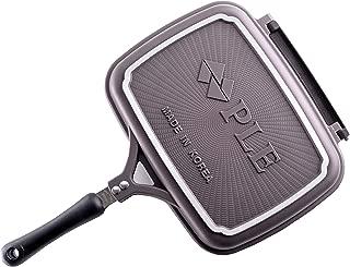 PLE Flip Pan, Double Pan, Fold Pan Low Pressure Cookware, Non-Stick & Non-Toxic Coatings, Korea
